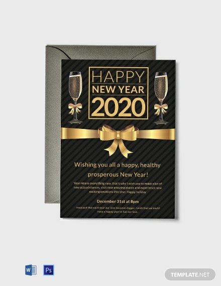 New Year Party Invitation Template Inspirational Free New Year Party Invitation Template Word