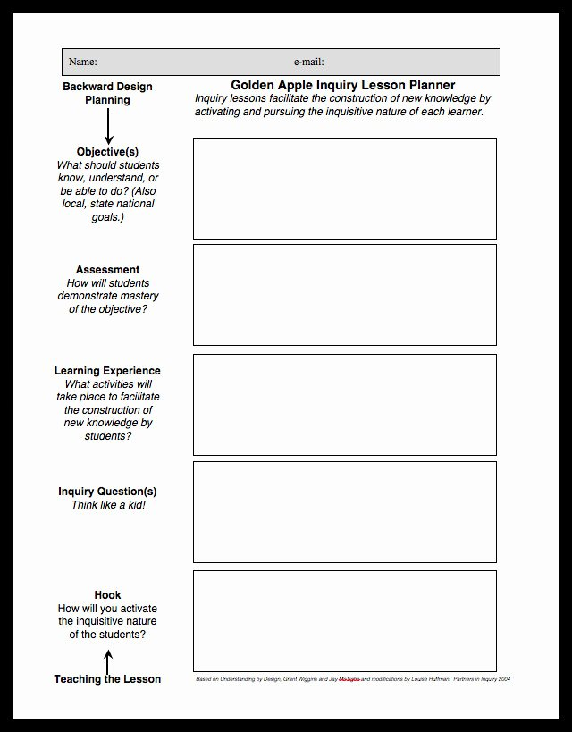Ngss Lesson Plan Template Lovely Do It Yourselves Ngss Planning Guide Resources for