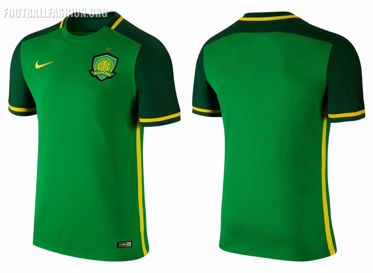 Nike Football Uniform Template Beautiful Beijing Guoan Fc 2016 Nike Home Jersey – Football Fashion org