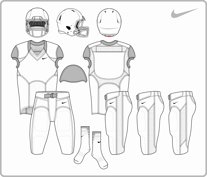 Nike Football Uniform Template Elegant 14 Football Helmet Template Shop Psd