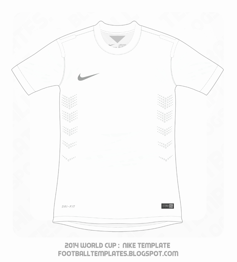 Nike Football Uniform Template Fresh Football Templates