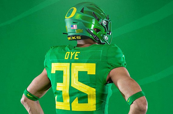 Nike Football Uniform Template Fresh oregon Ducks Unveil New Uniforms Nike Vapor Fusion