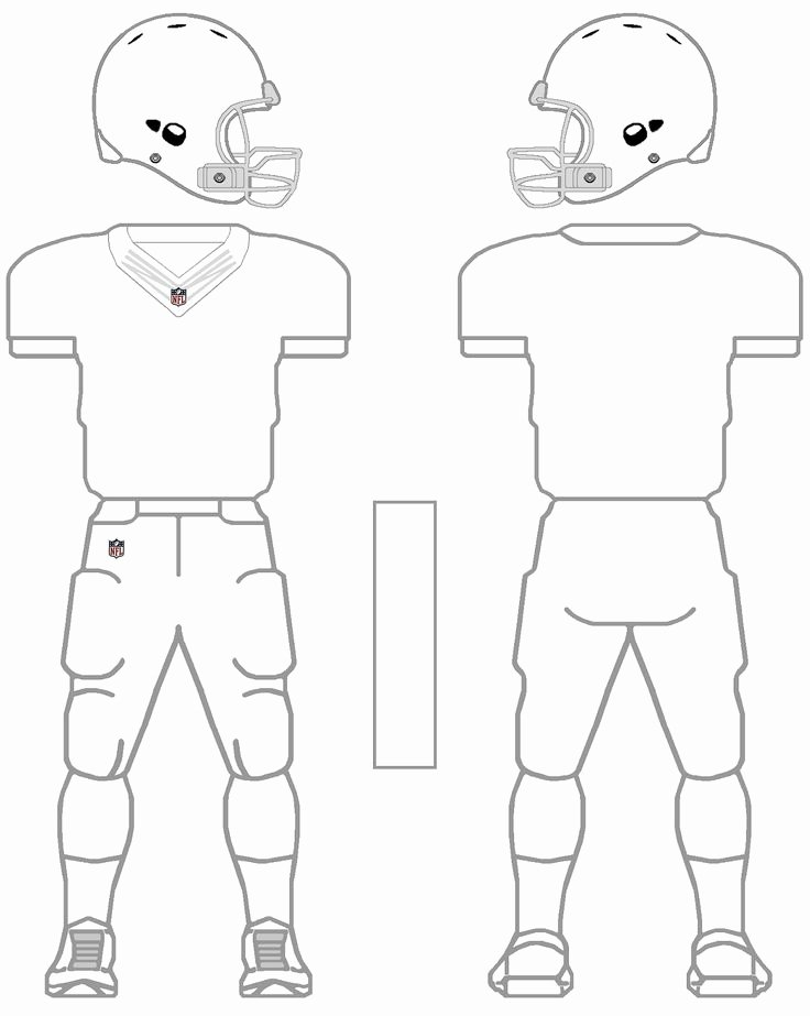 Nike Football Uniform Template Inspirational Printable Nfl Football Jersey Template Google Search