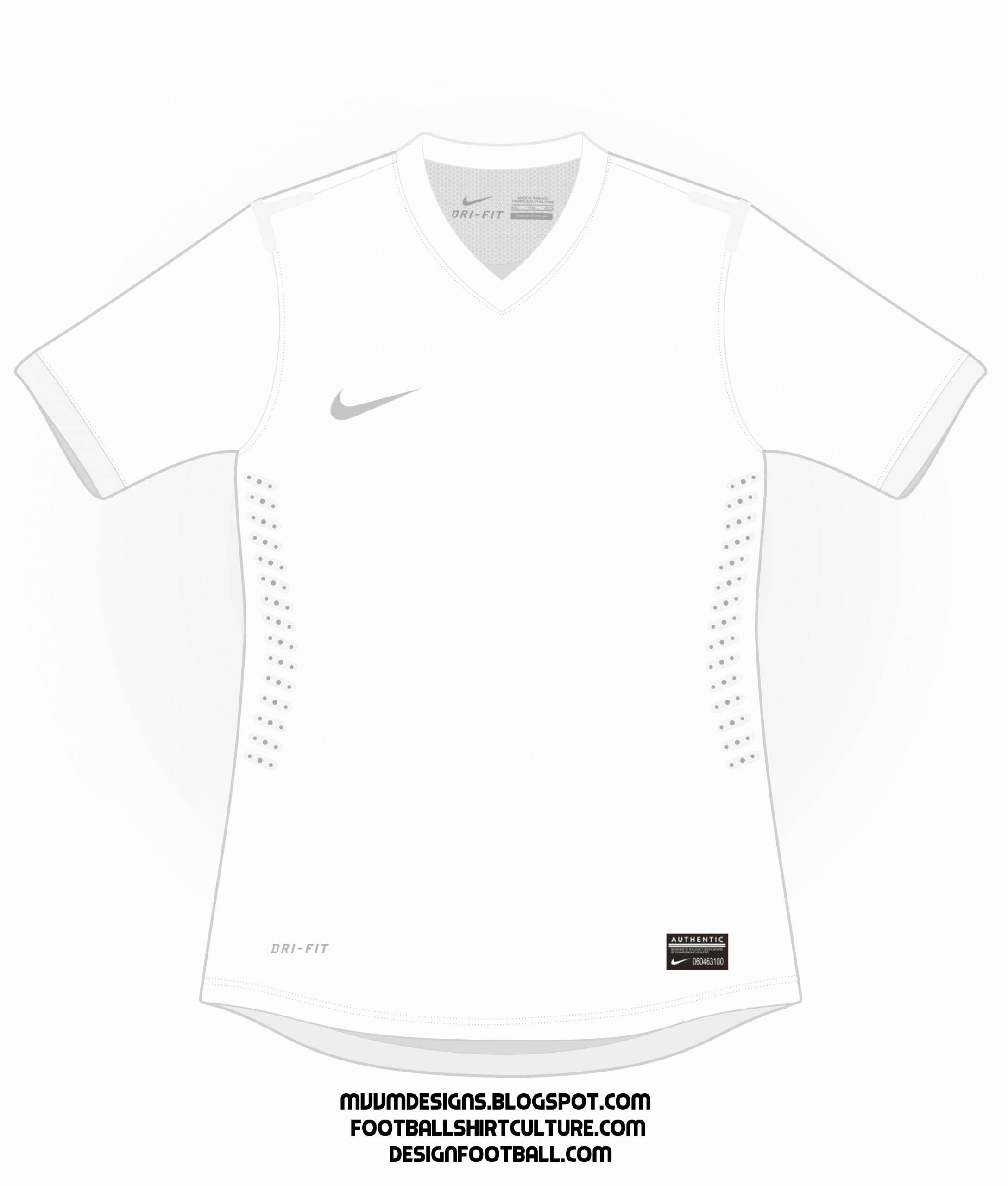 Nike Football Uniform Template Luxury [free Template] 2013 2014 Basic Nike Shirt Updated