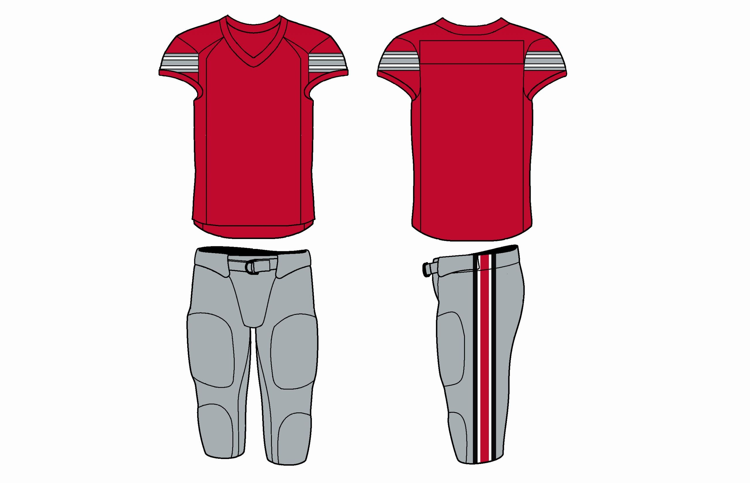 Nike Football Uniform Template Unique Evolution Of Nike College Football Uniforms Land Grant