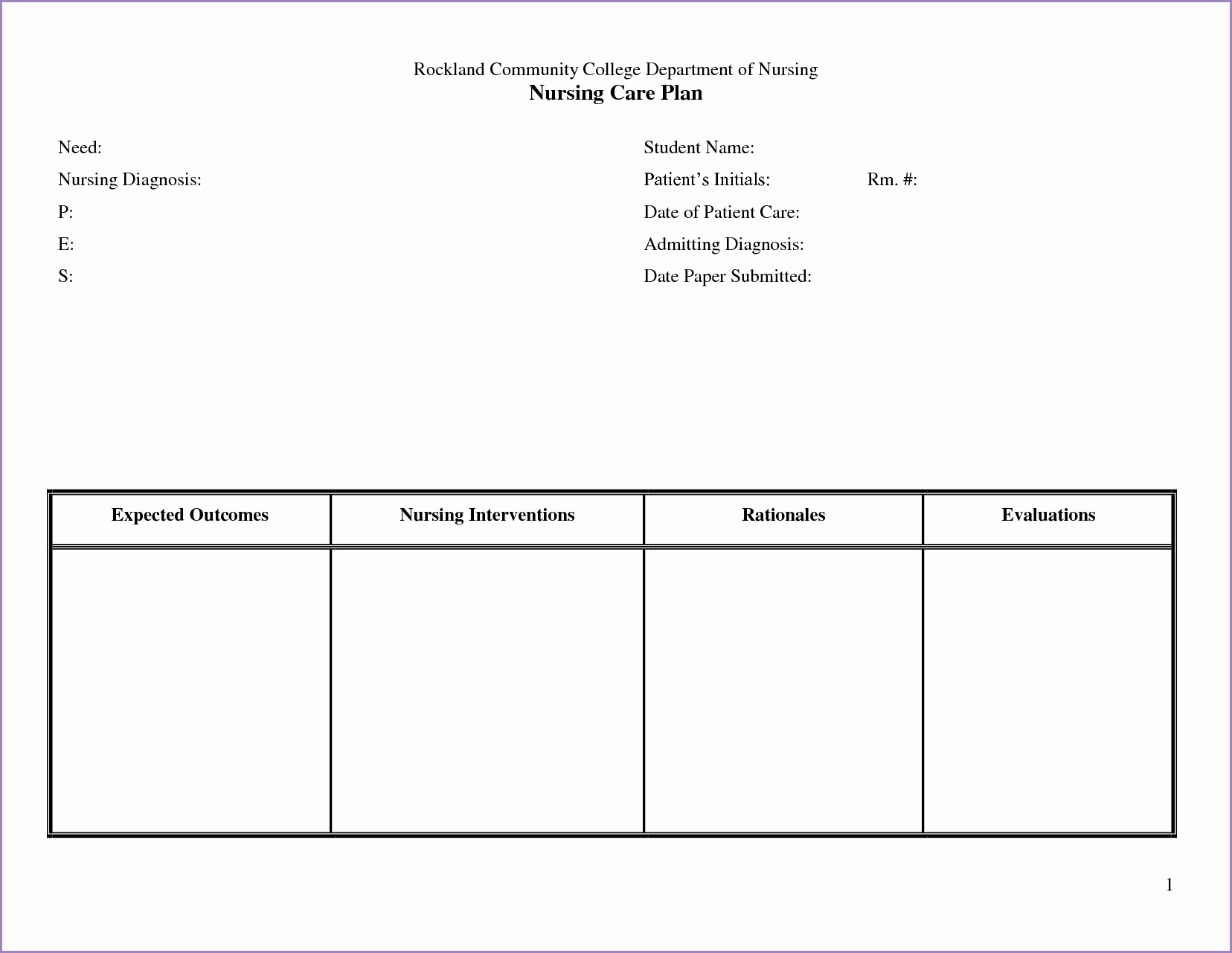 Nursing Education Plan Template Inspirational 24 Of Nursing Teaching Plan Template