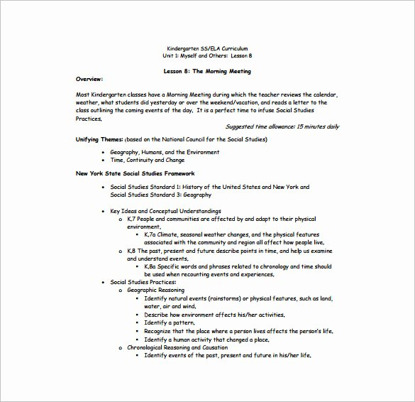 Nys Lesson Plan Template Lovely Daily Lesson Plan Template 15 Free Pdf Word format