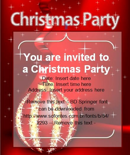Office Christmas Party Invitation Template Awesome 114 Best Images About Fice Templates On Pinterest