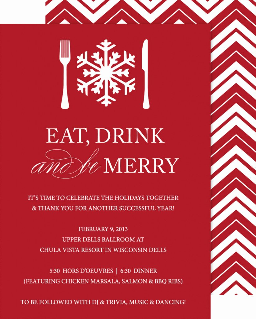 Office Christmas Party Invitation Template Awesome Fice Party Invitation Templates
