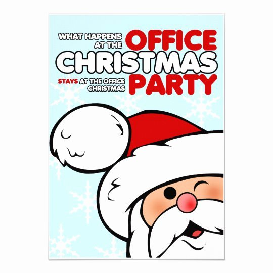 Office Christmas Party Invitation Template Elegant Funny Christmas Fice Party Invitations