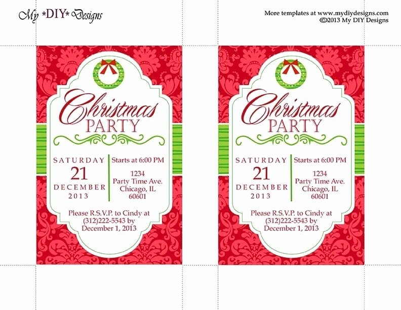 Office Christmas Party Invitation Template Fresh Fice Christmas Party Invitation Templates Free