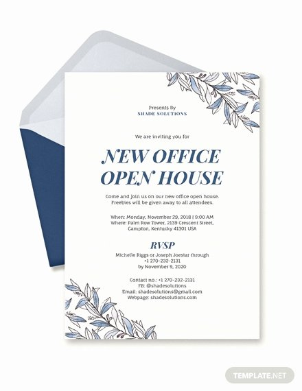 Office Party Invitation Template Awesome Free Fice Opening Invitation Card Template Download 517