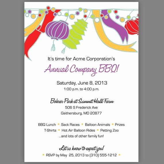 Office Party Invitation Template Elegant Items Similar to Pany Party Invitation Pany Picnic