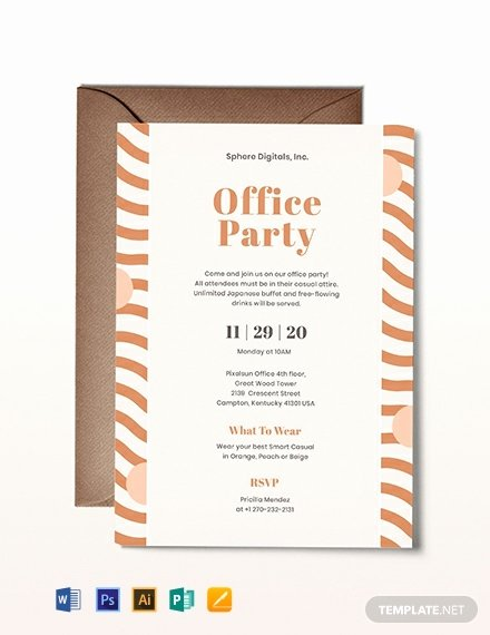Office Party Invitation Template Fresh Free Fice Opening Invitation Card Template Download 767