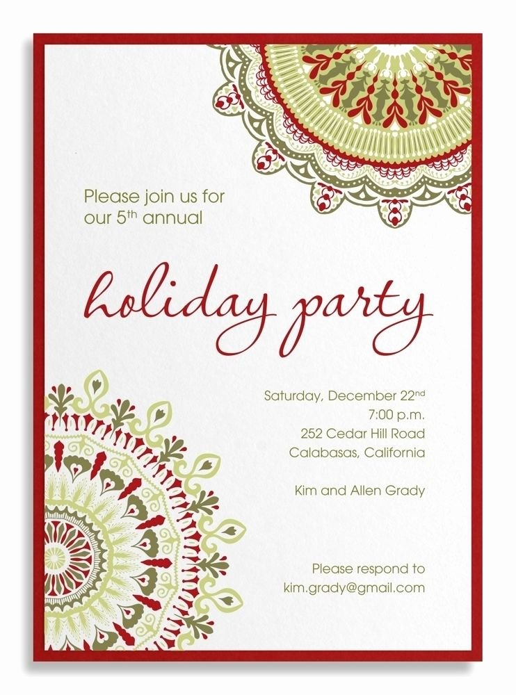 Office Party Invitation Template Luxury Pany Party Invitation Sample