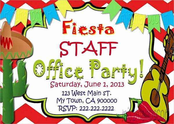 Office Party Invitation Template New 58 Sample Birthday Invitation Templates Psd Ai Word