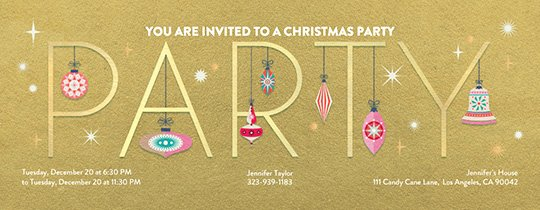 Office Party Invitation Template New Fice Holiday Party Line Invitations