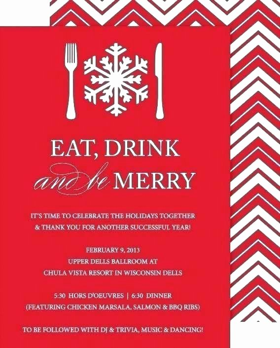 Office Party Invitation Template Unique Corporate Christmas Invitation Template – Wsopfreechips