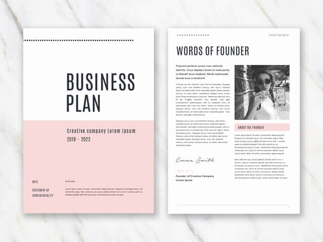 Pages Business Plan Template Best Of Business Plan Templates In Word for Free