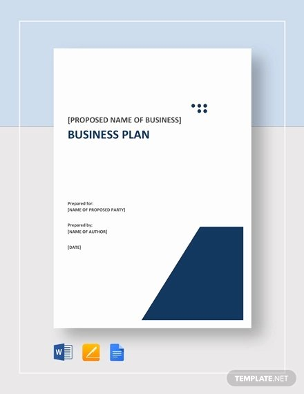 Pages Business Plan Template New Small Business Plan Template 15 Word Excel Pdf Google