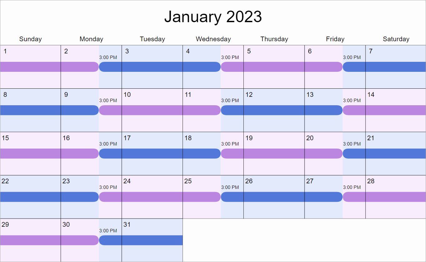 Parenting Plan Calendar Template Inspirational 2 2 3 Visitation Schedule How Does It Work why Would You
