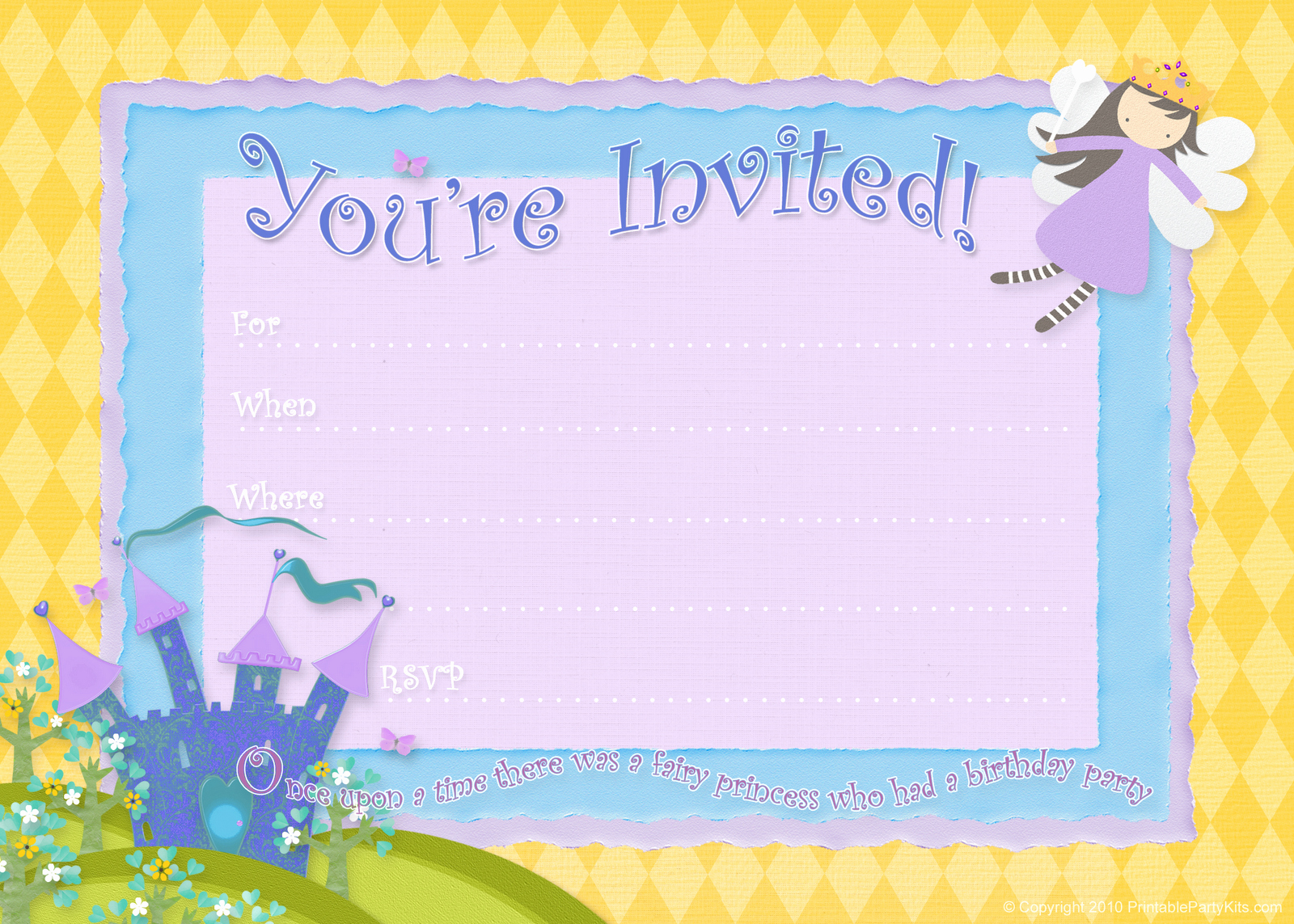 Party Invitation Template Free Lovely Free Birthday Party Invitations – Bagvania Free Printable