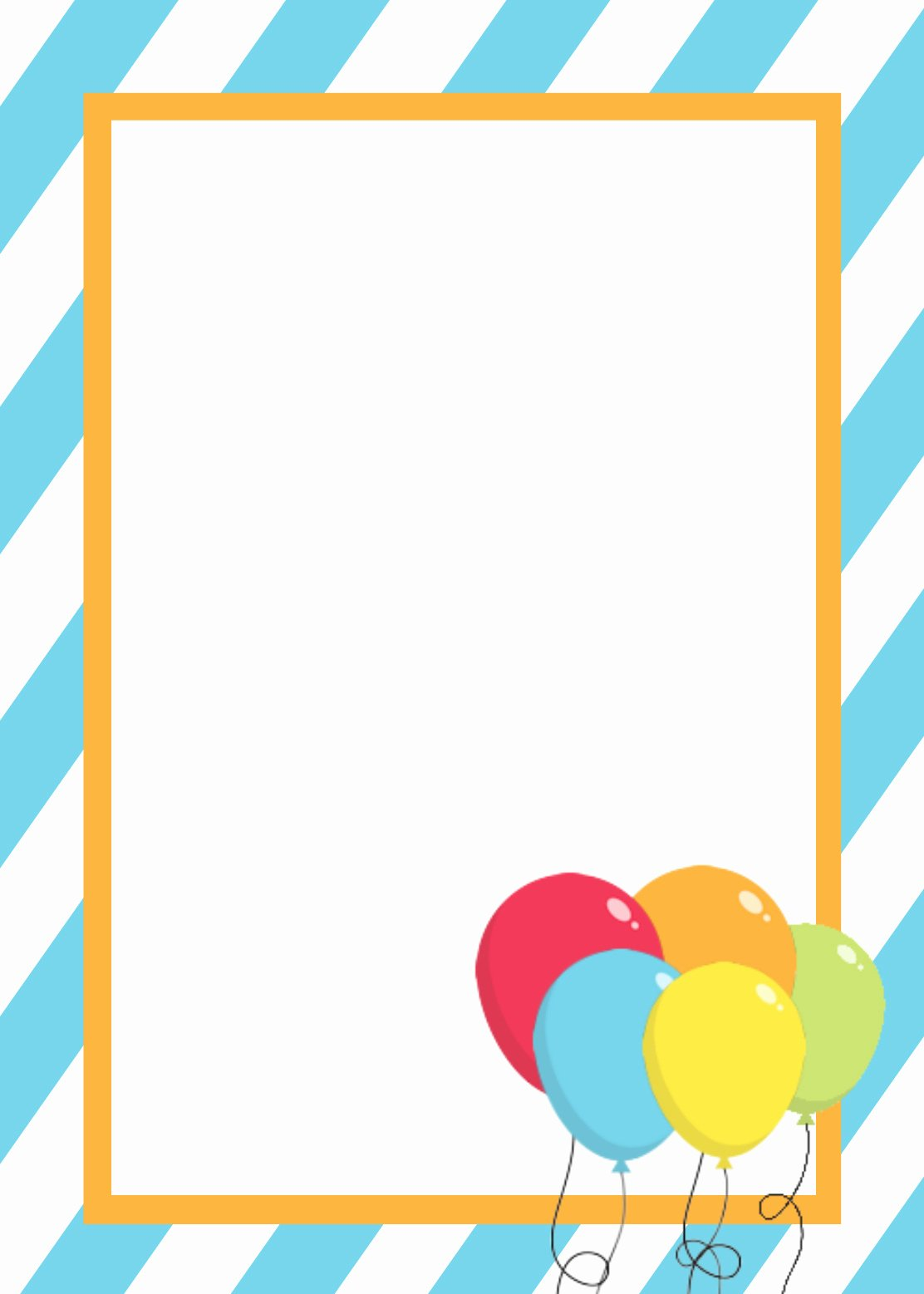 Party Invitation Template Microsoft Word Unique Free Printable Birthday Invitation Templates