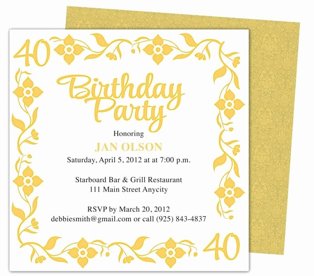Party Invitations Template Word New Invitation Template Word