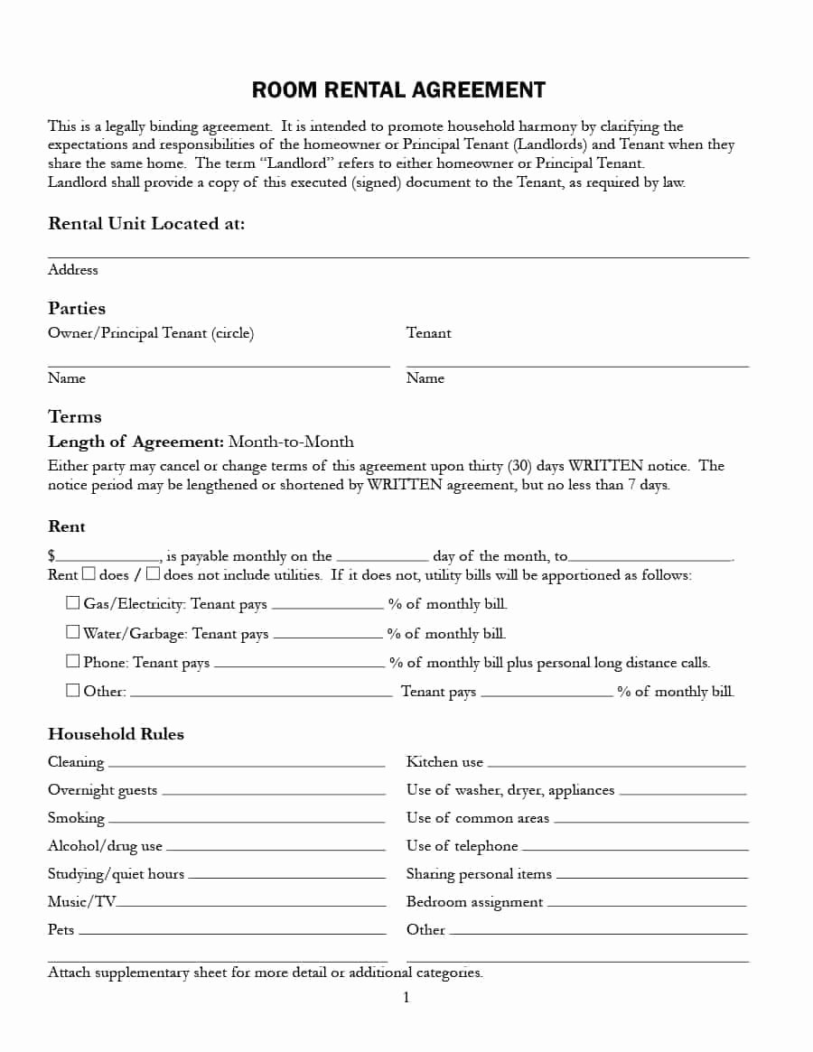 Party Rental Agreement Template New Party Room Rental Agreement Template