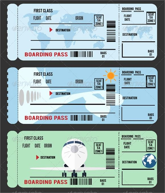 Passport Invitation Template Photoshop Best Of Sample Boarding Pass 9 Documents In Pdf Psd Vector