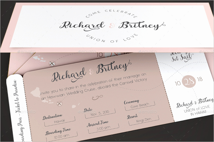 Passport Invitation Template Photoshop Elegant 27 Boarding Pass Invitation Templates Free Psd format
