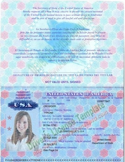 Passport Invitation Template Photoshop Fresh Drivers License Fake Drivers License Drivers License