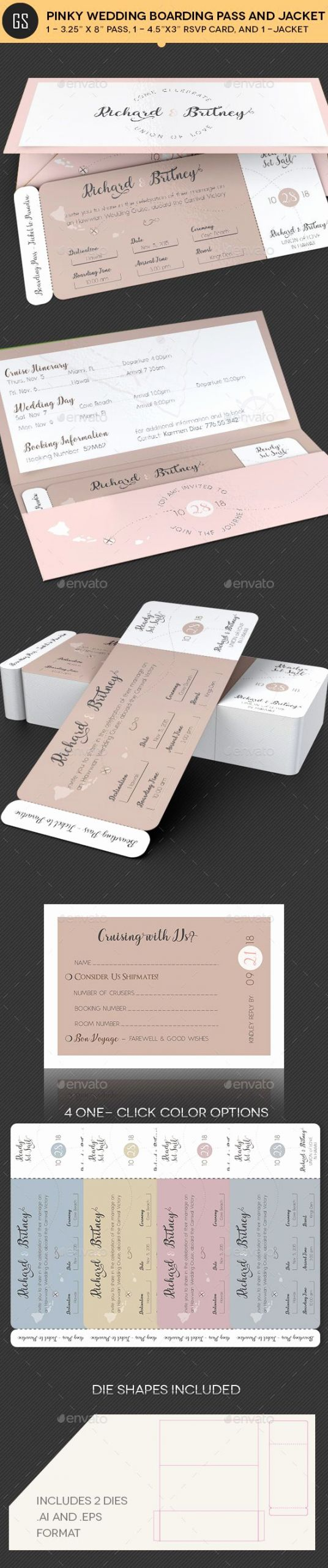 Passport Invitation Template Photoshop New Pin Von Bashooka Web & Graphic Design Auf Wedding