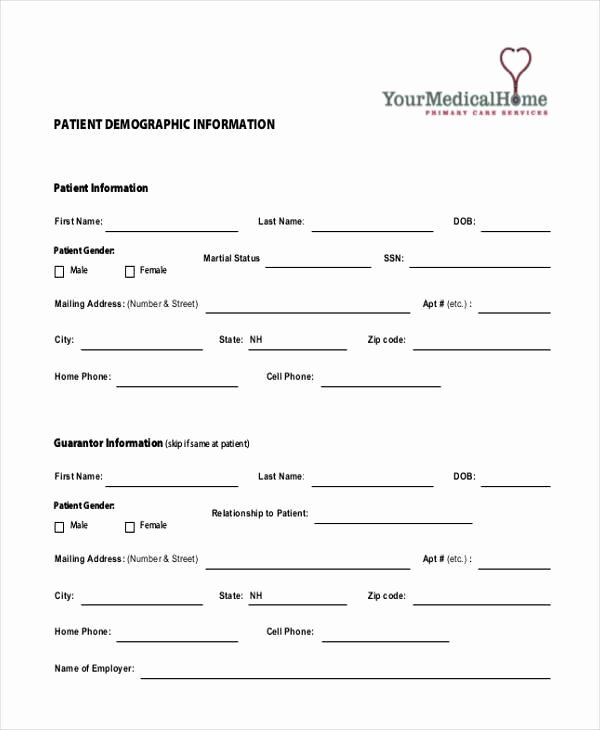 Patient Information Sheet Template Luxury Free 10 Sample Patient Information forms In Pdf
