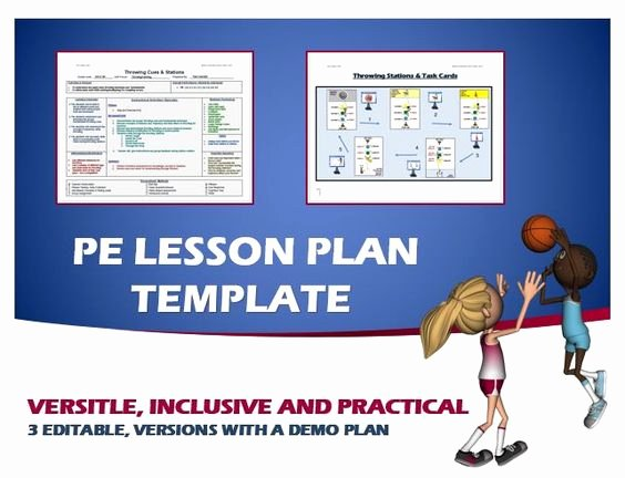 Pe Lesson Plan Template Blank Inspirational Pinterest • the World's Catalog Of Ideas