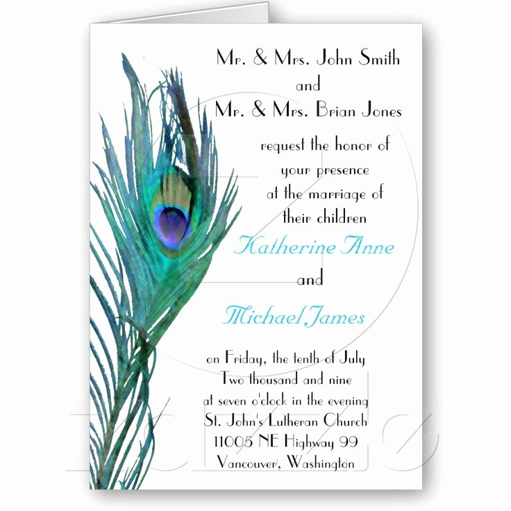 Peacock Invitations Template Free Beautiful 34 Best Peacock Ideas Images On Pinterest