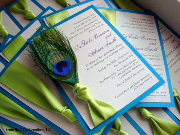 Peacock Invitations Template Free Elegant 23 Peacock Wedding Invitation Templates – Free Sample