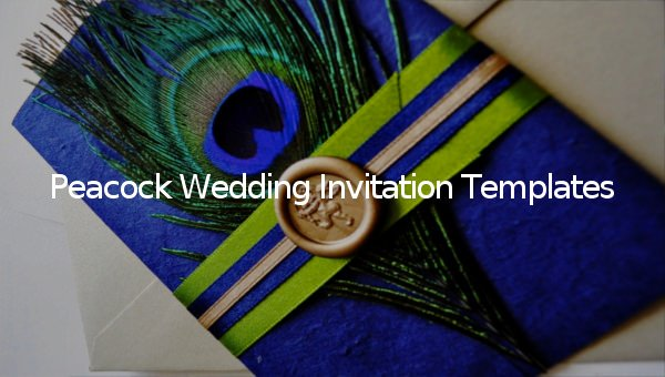 Peacock Invitations Template Free Fresh 23 Peacock Wedding Invitation Templates – Free Sample