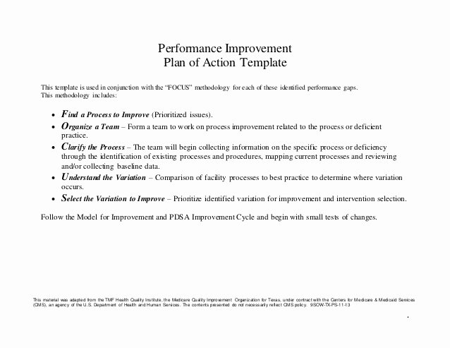 Performance Improvement Action Plan Template Beautiful Unity is Strength Action Plan Template