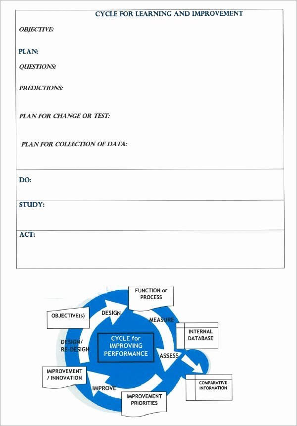 Performance Improvement Action Plan Template Unique Free 11 Sample Performance Improvement Plan Templates In