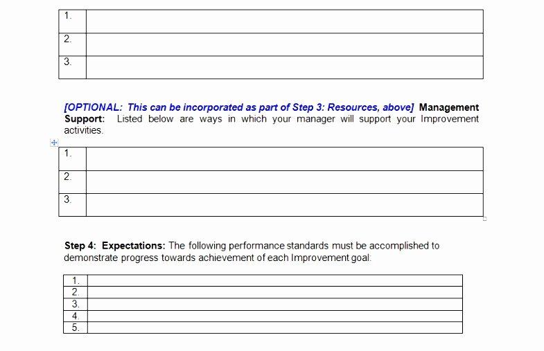 Performance Improvement Plan Template Excel Awesome 12 Performance Improvement Project Template Iuyeu