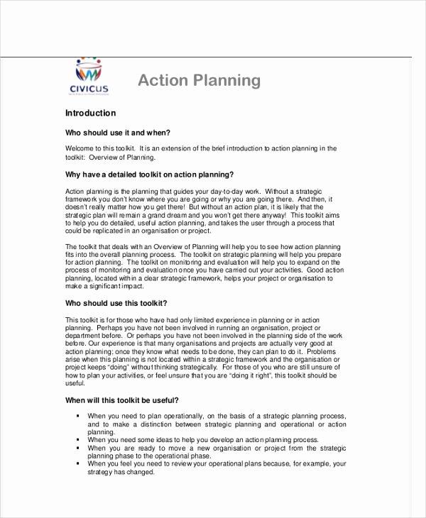 Performance Improvement Plan Template Word Lovely Performance Action Plan Template 8 Free Word Pdf
