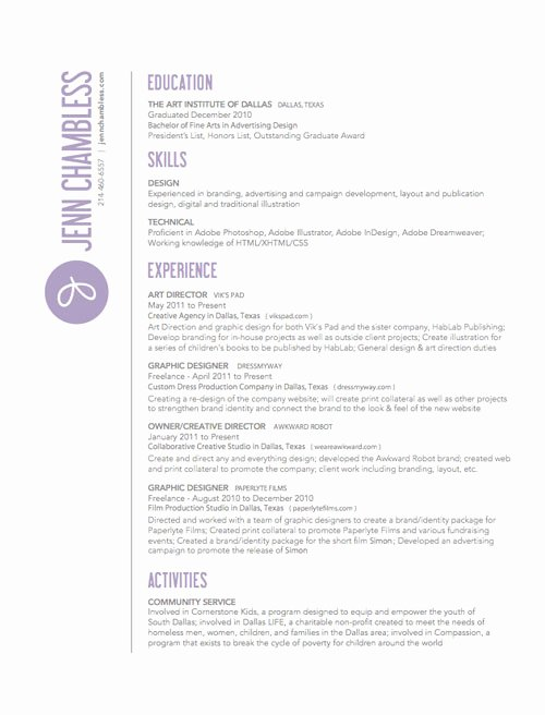 Performing Arts Resume Template Elegant 30 Great Examples Creative Cv Resume Design – Bashooka