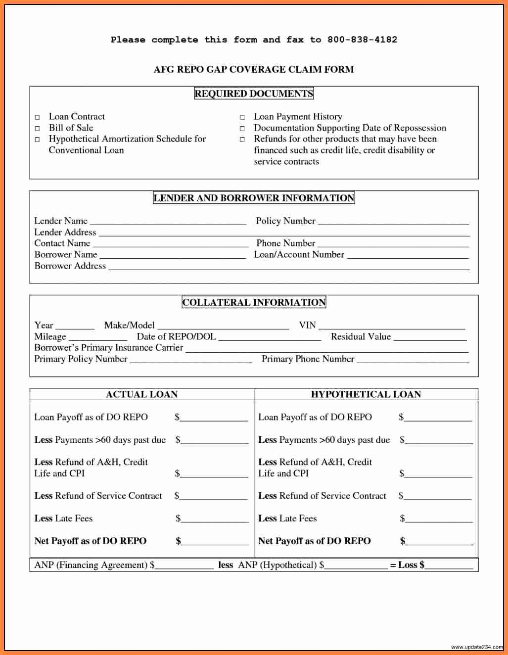 Personal Loan forms Template Beautiful 8 Personal Loan Agreement Contract Template