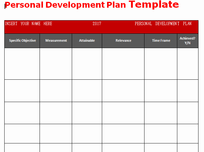 Personalized Learning Plan Template Inspirational Get Personal Development Plan Template Word – Microsoft