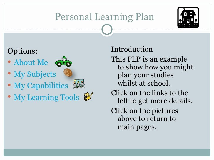 Personalized Learning Plans Template Luxury Personal Learning Plan Template