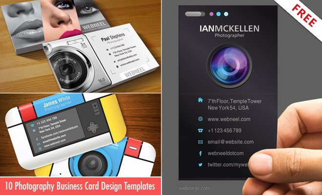 Photography Business Plan Template Awesome 10 Business Card Design Templates for Graphers
