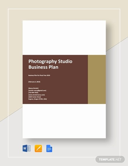 Photography Business Plan Template Beautiful Graphy Business Plan Template 12 Free Word Excel
