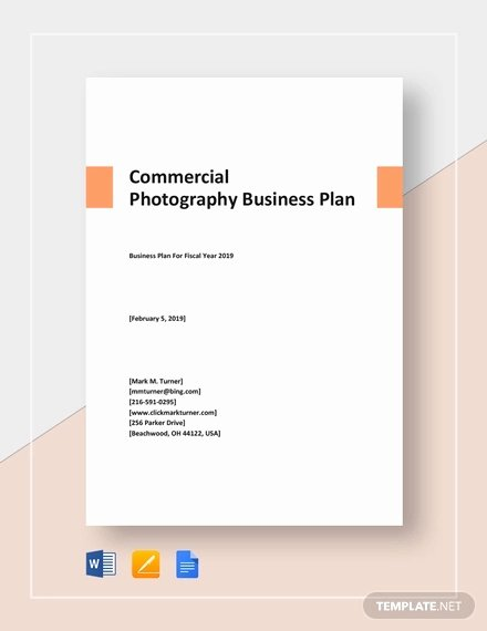 Photography Business Plan Template Best Of Graphy Business Plan Template 12 Free Word Excel