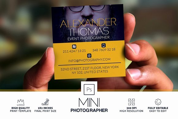 Photography Business Plan Template Best Of Mini Grapher Business Card Business Card Templates